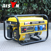BISON(CHINA)Economical Fuel Use 2kw Portable Battery Operated Generator for Sale