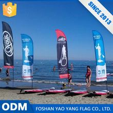 Polyester Fabric Beach Flag Wholesale Custom Boat Flag