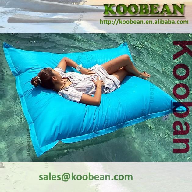 pool bean bag for floating inflatable floating bean bag slab shaped bean bag float buy sofa. Black Bedroom Furniture Sets. Home Design Ideas