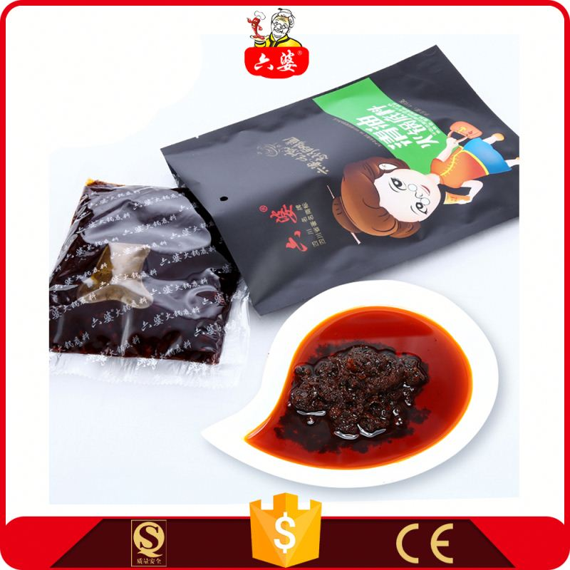 hot selling healthy food soup cube chilli paste