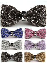 Factory price ladies flashing neck bow tie mens handsome bow tie made in china BOT4016