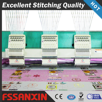 Top quality 24 Heads 12 needle computer embroidery machine good price in india