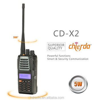 Customize handy talky vhf/uhf handheld two way radio with Euro standard 1750Hz (CD-X2)