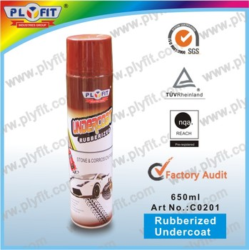 Durable Rubber Coating Spray