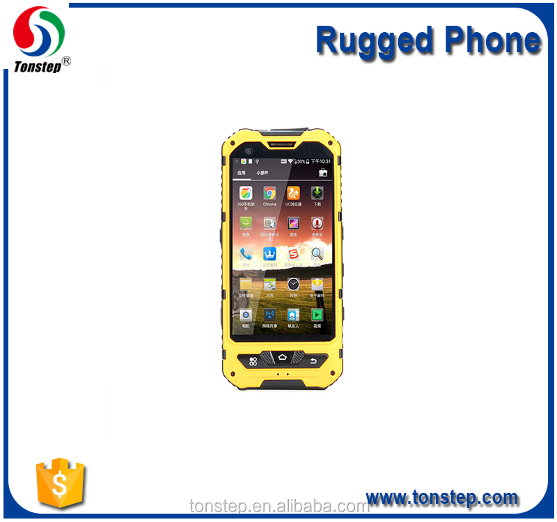 4.0 inch Waterproof and dustproof Dual card dual standby rugged mobile phone