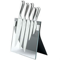 clear acrylic knife display holder