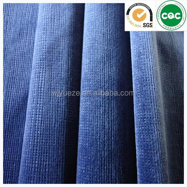 Chenille Jacquard Sofa Fabric Velvet Fabric For Sofa Sofa Upholstery