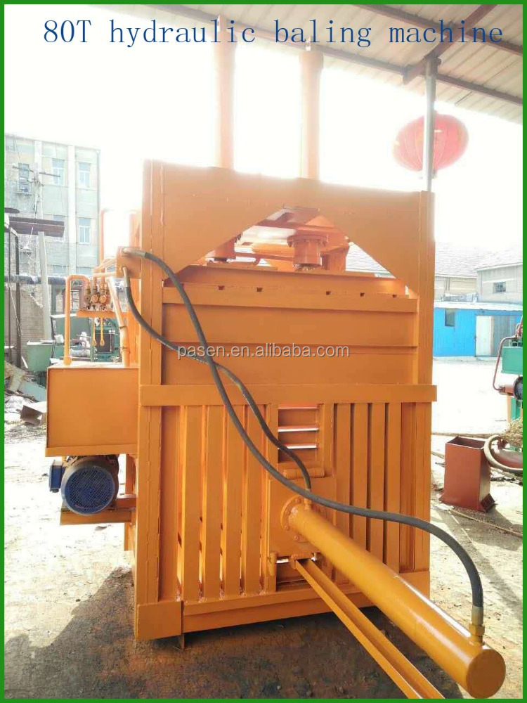 waste paper compactor machine , waste paper hydraulic press machine , waste paper baling machine