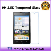 high clear ultra thin 0.26mm tempered glass screen protector for huawei ascend y300