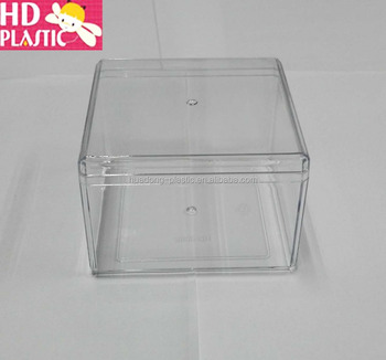 low price clear plastic food box with lid
