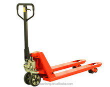 Baoding Yellow Pallet truck with hand brake
