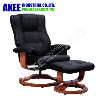 swivel leisure massage chair with ottoman recliner buy swivel chair