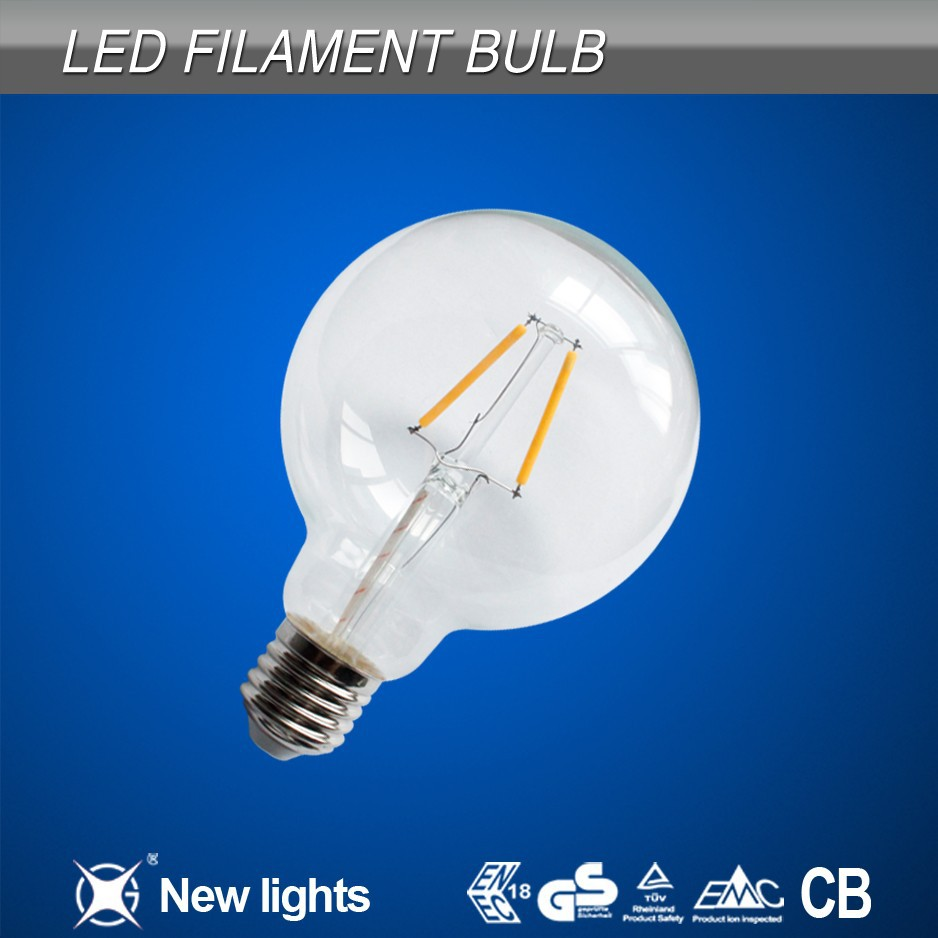 light bright candle factory led filament bulb decorative glass led lamps for kitchens