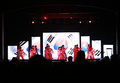 P4.81 full color indoor Giant stage background rental led display