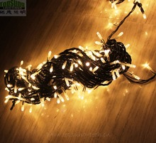 2019 30m custom connectable warm white decorative led christmas lights 300 led factory