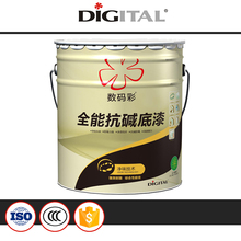 Alkali resistant anti-fungus latex paint for interior walls