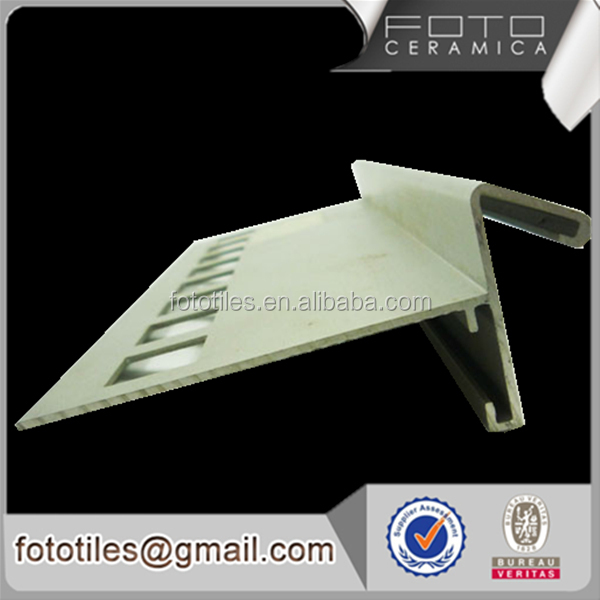 Nose wall aluminum metal l shaped tile trim