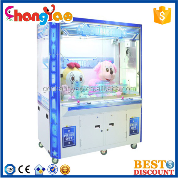 Popular Double Fun Catching Toy Game Machine Supplier
