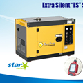 Ultra silent generator 7kw electric start 100% copper