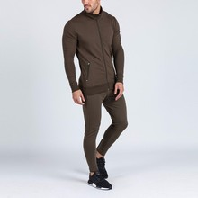 High quality sweat suits cheap custom private label plain tracksuit