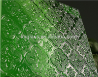 China manufacture stained glass patterns good price 6mm 8mm 10mm 12mm patterned glass for building decorative
