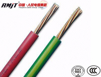 Copper stranded conductor PVC insulated electrical wire