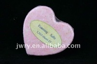 100 g hearts shaped scented explosion of salt
