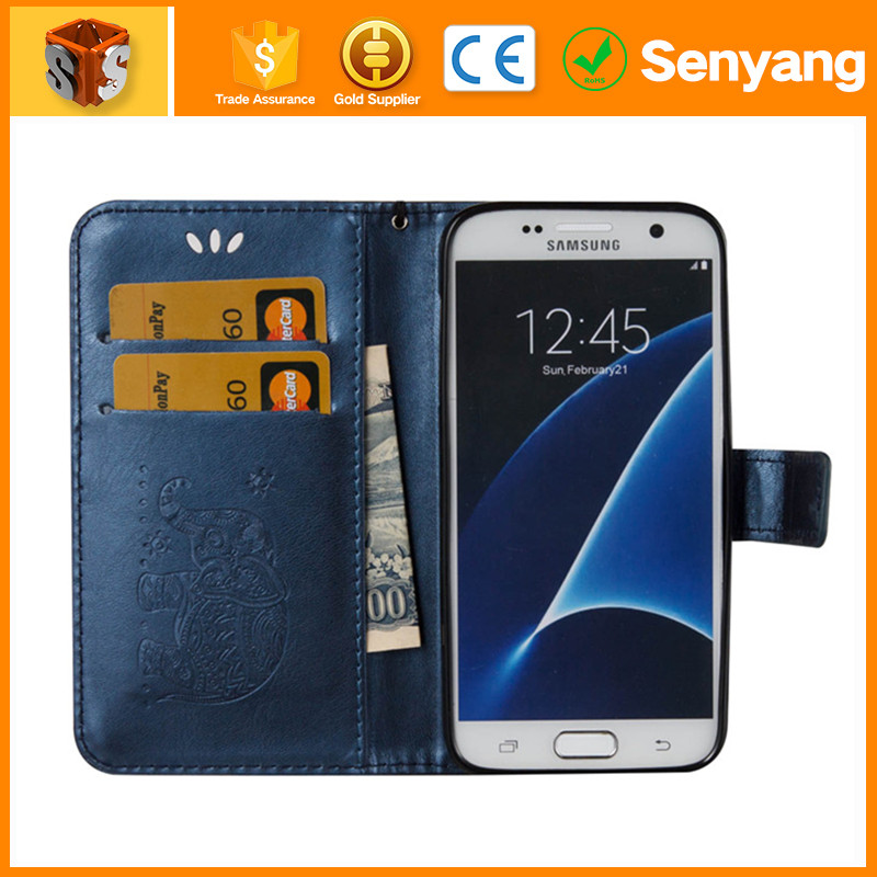 wholesale uk custom oem artificial leather cell phone case for samsung galaxy mini 2