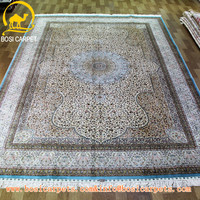 7x10ft Have the strong Chinese historic handmade silk carpet belgium carpet