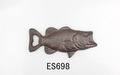 cast iron decoration fish bottle opener