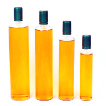 100ml 250ml 500ml 750ml clear olive oil glass bottle with plastic cap or aluminium cap