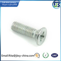 high quality m20 countersunk bolts manufacture