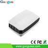 Guoguo high quality power bank 2.1A 5V UV printing 3USB new 10000mAh portable phone chargers