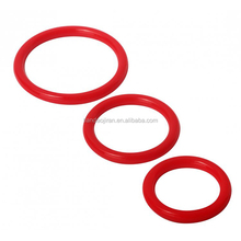 Adult novelties for men 3 sizes silicone cock rings