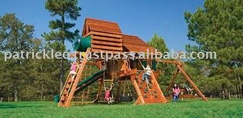 Megasized Rainbow Castle Package IV Husky Swing Sets