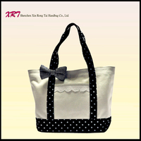 New design Leather Tote Handbag with high quality