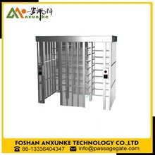 Security full height turnstile gate door access control system