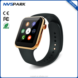 Heart rate Monitor bluetooth 4.0 smart watch phone A9 Smart watch support Android&IOS
