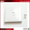 High Quality Best Price Rj45 2port Network Cabling Faceplate