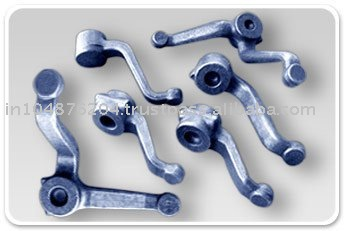 Drop Forged Automotive Machined Component, Tractor Steering Arms with Axle, Automotive Steering Parts