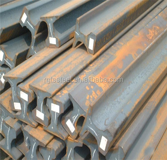 Hot rolled QU100 railroad track used for lift