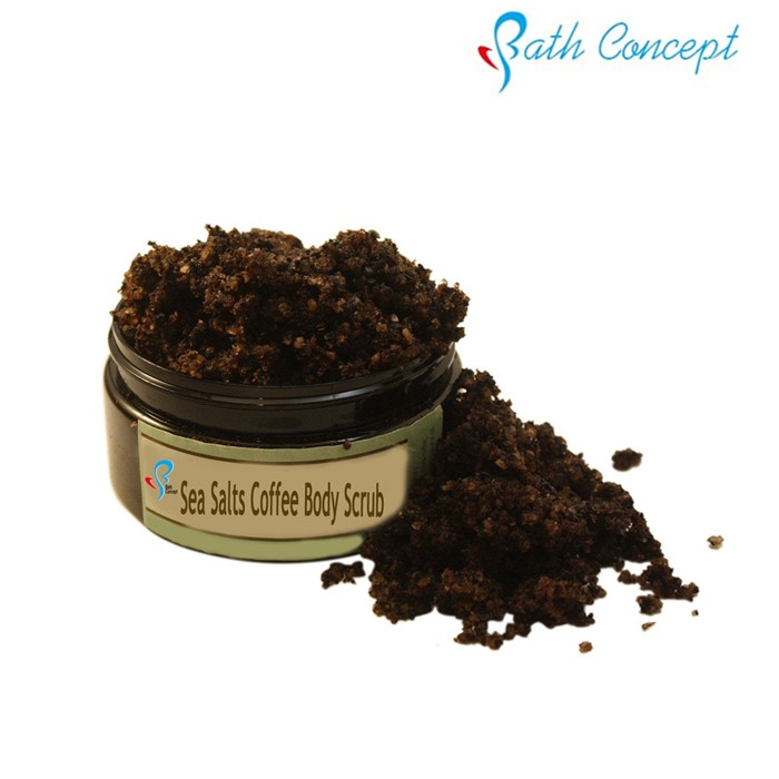 private label Olive oil exfoliating whitening coffee scrub