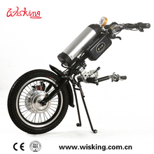 wheelchair trailer Q2 electric Wheelchair bike handcycle trike