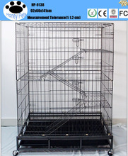 Cheap wire mesh double pet supplies cat cages