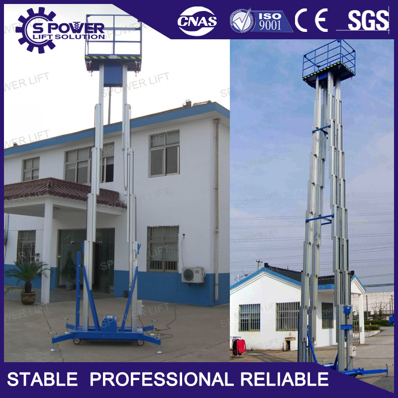 load 200 kg small electric hydraulic lift for container sale