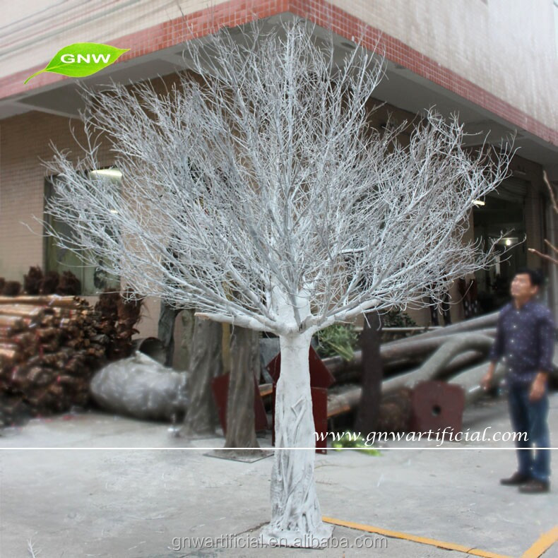 3 Meter Artificial White Winter Dry Tree No Leaves Sale for Decoration