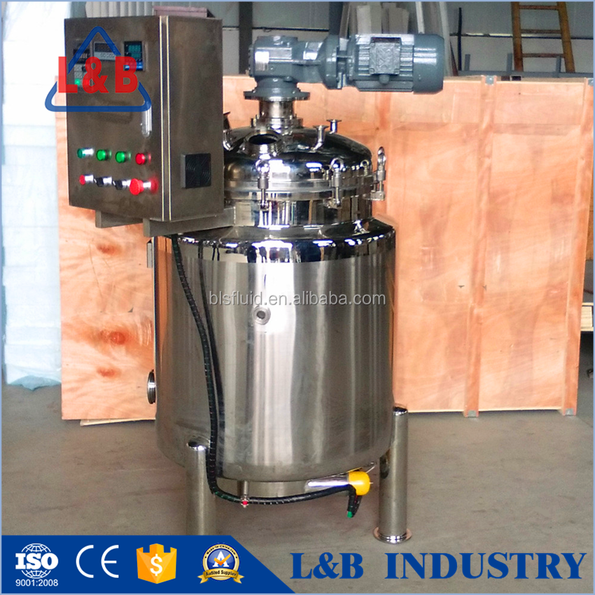 High Quality SUS 304 and 316L Lube Oil Mixer Machine price sale