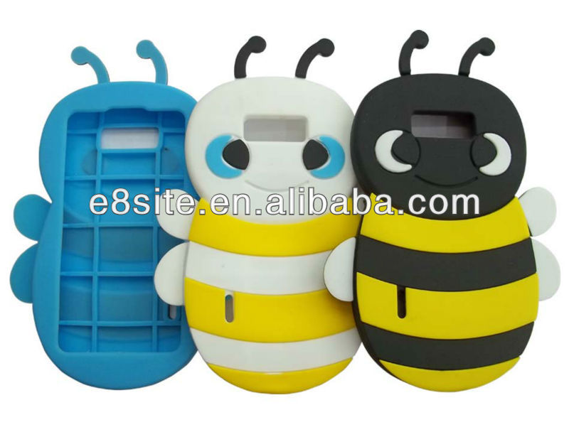 Bumble Bee Silicon Case For LG Optimus L7 P700 P705