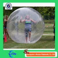 inflatable roller orb/ball ,plastice bubble ball pool,giant human bubble ball