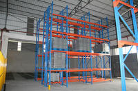 Professional heavy duty a36 steel welding frame pallet racks from China
